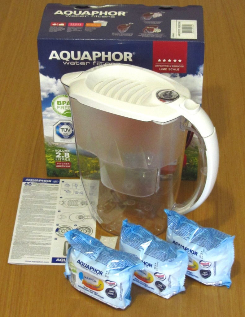Aquaphor Amethyst White - Filtering pitcher